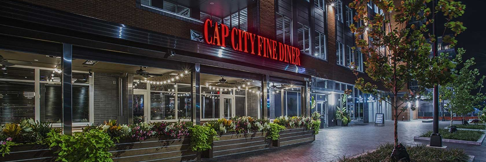 exterior of cap city dublin